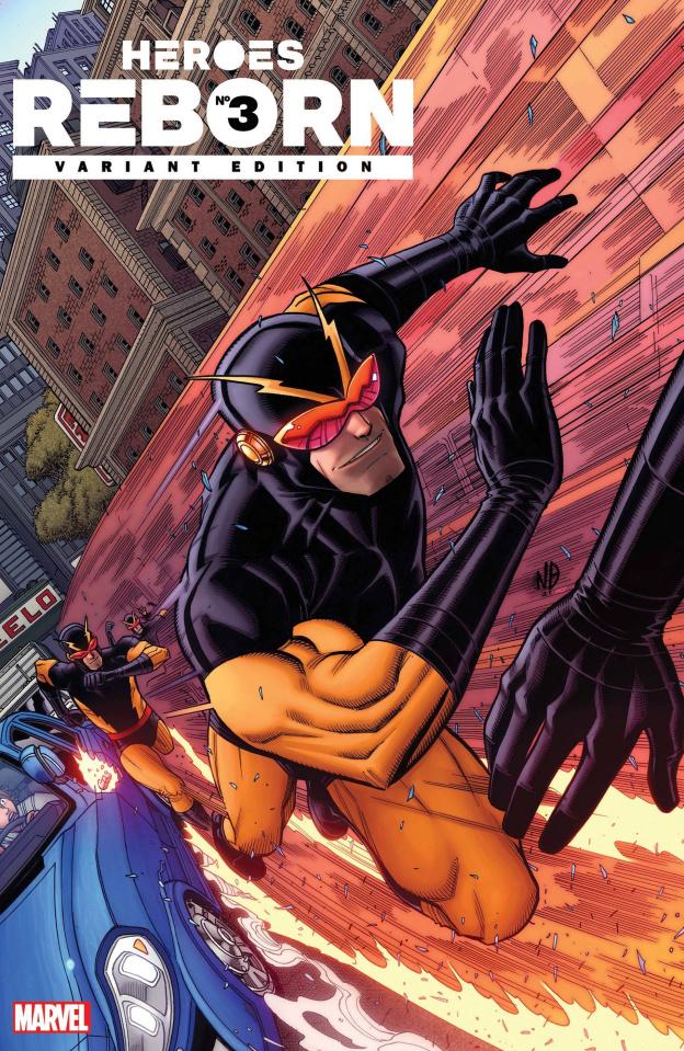 Heroes Reborn #3 (Bradshaw Cover)