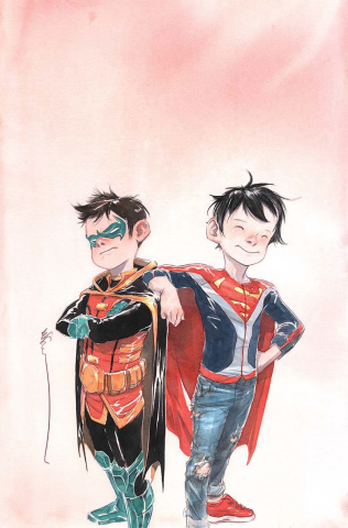Super Sons #1 (Variant Cover)