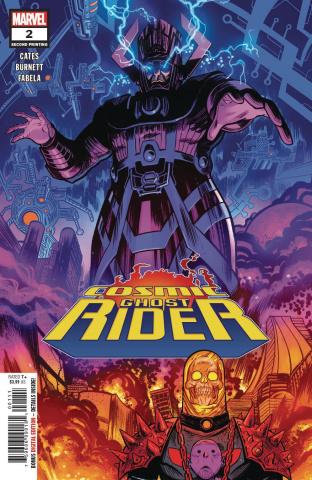 Cosmic Ghost Rider #2 (Burnett 2nd Printing)