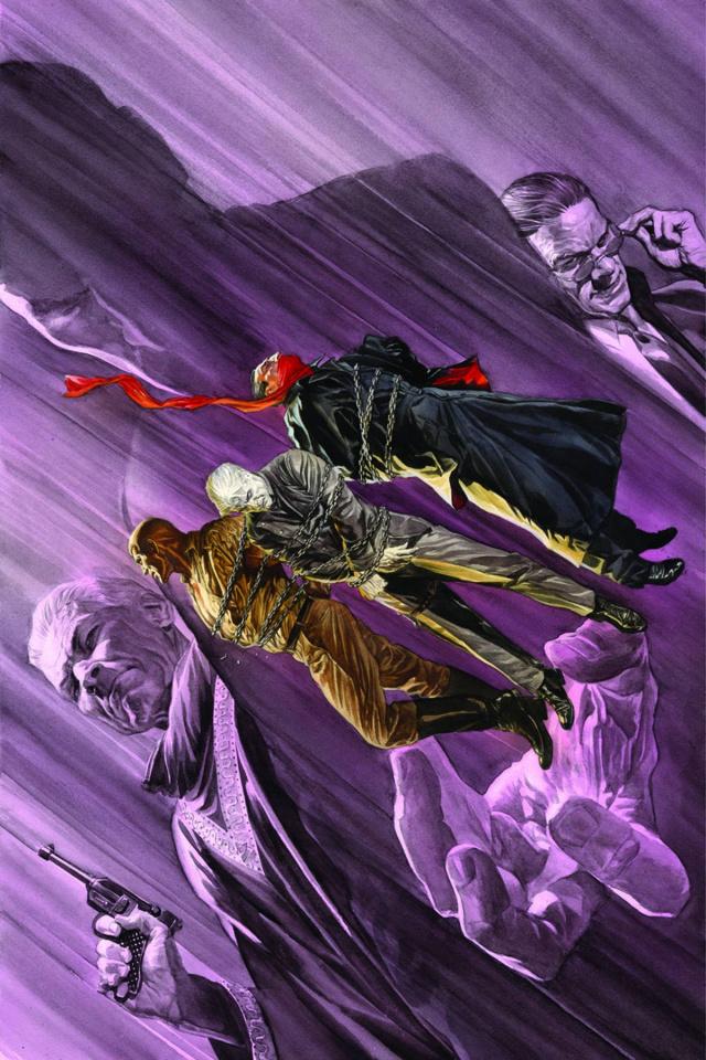 Justice, Inc. #5 (Rare Ross Virgin Cover)