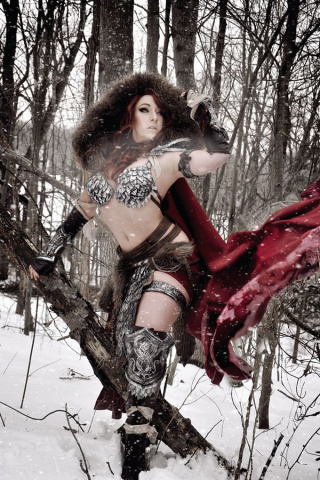 Red Sonja #6 (10 Copy Cosplay Virgin Cover)