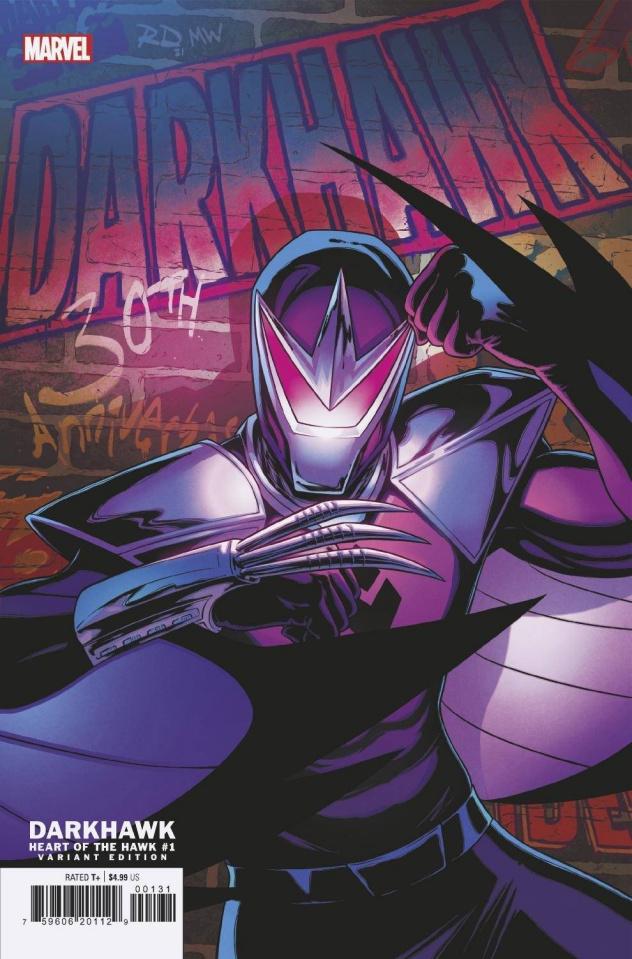 Darkhawk: Heart of the Hawk #1 (Dauterman Cover)