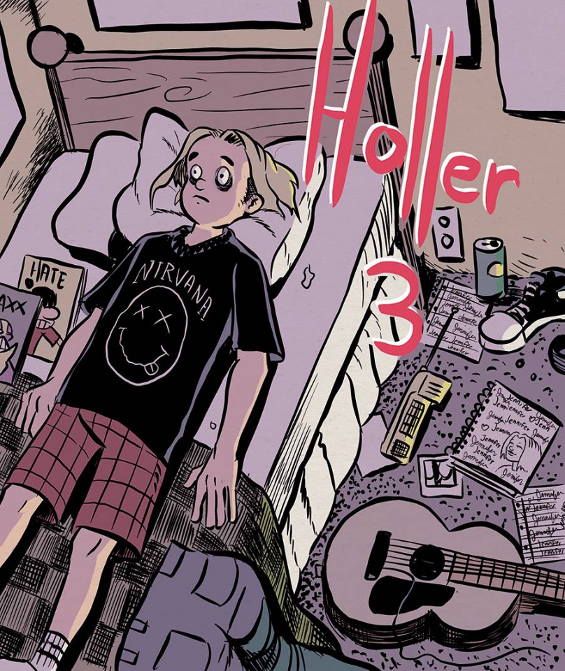 Holler #3 (Massie Cover)