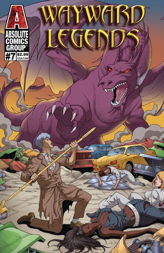 Wayward Legends #7 (Yang Cover)