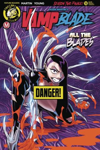 Vampblade, Season Two #12 (Winston Young Risque Cover)