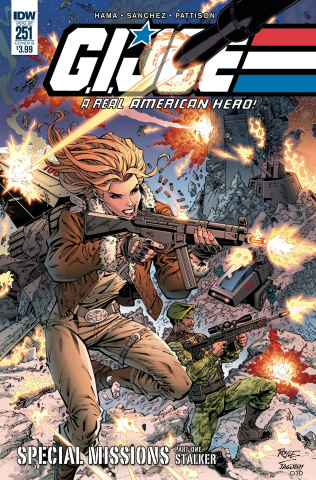 G.I. Joe: A Real American Hero #251 (Royle Cover)