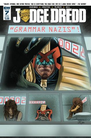 Judge Dredd #7 (Subscription Cover)