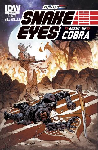 G.I. Joe: Snake Eyes - Agent of Cobra #5 (Subscription Cover)
