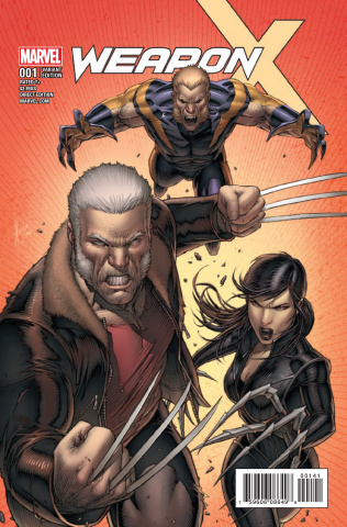 Weapon X #1 (Keown Cover)