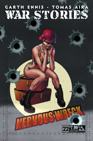 War Stories #22 (Battle Damage Premium Cover)