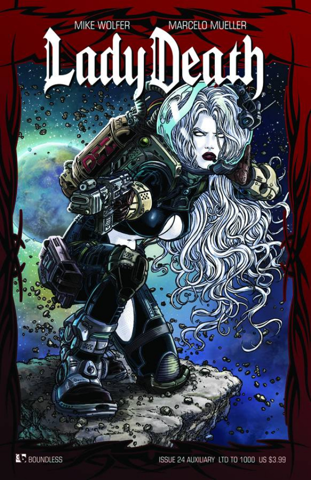 Lady Death #24 (Auxiliary Cover)