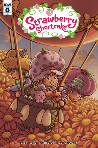 Strawberry Shortcake #8 (10 Copy Cover)