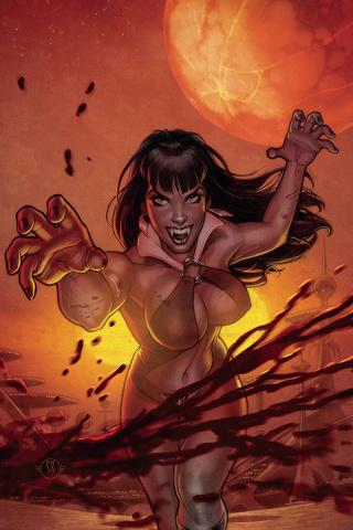 Vampirella #18 (Roux Virgin Cover)