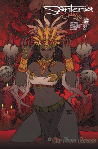 Santeria: The Goddess Kiss #1 (12 Copy Cover)