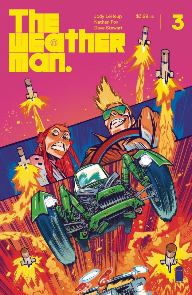 The Weatherman #3 (25 Copy Harren Cover)