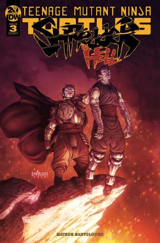 Teenage Mutant Ninja Turtles: Shredder in Hell #3 (Santolouco Cover)