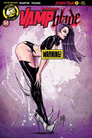 Vampblade, Season Four #3 (Brao Risque Cover)