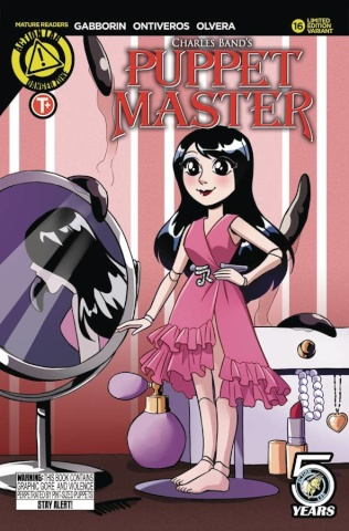 Puppet Master #16 (Cute Cover)