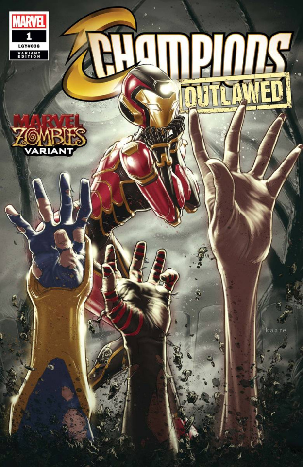 Champions #1 (Andrews Marvel Zombies Cover)