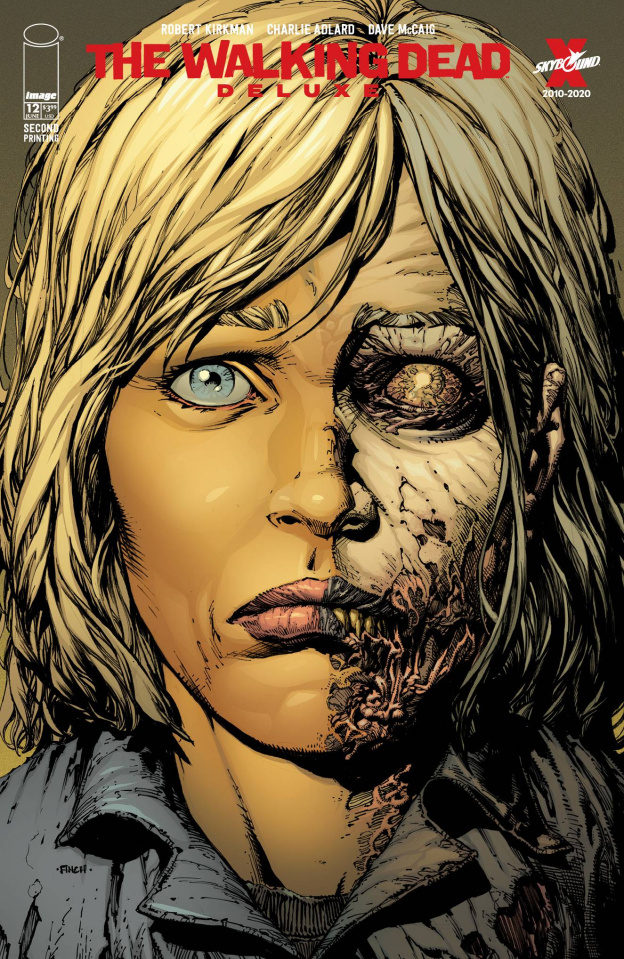 The Walking Dead Deluxe #12 (Finch & McCaig 2nd Printing)