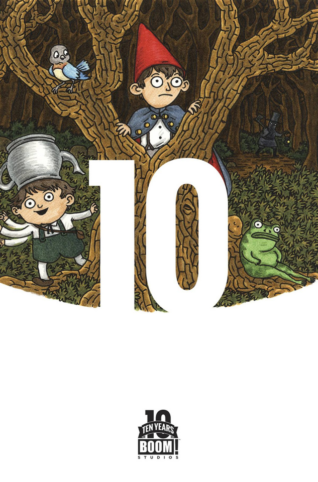 Over the Garden Wall #1 (10 Year 10 Copy Brown Cover)
