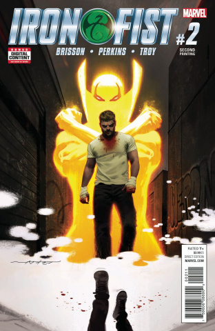 Iron Fist #2 (2nd Printing Dekal)