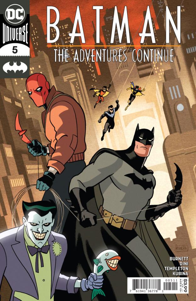 Batman: The Adventures Continue #5 (Paolo Rivera & Joe Rivera Cover)