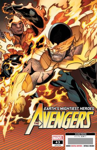 Avengers #43 (Garron 2nd Printing)