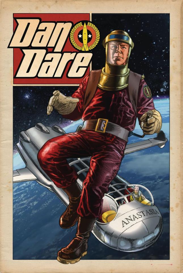 Dan Dare #4 (Weston Cover)