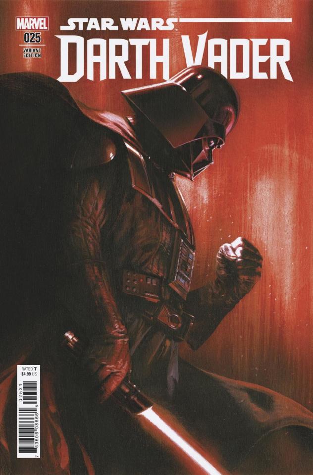 Star Wars: Darth Vader #25 (Dell'Otto Cover)