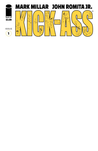 Kick-Ass #1 (Blank Cover)
