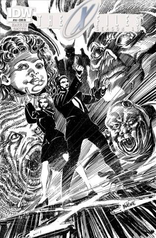 The X-Files, Season 10 #18 (10 Copy Cover)