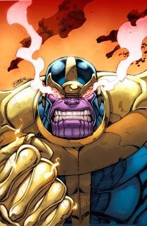 Thanos #1 (Lim Cover)