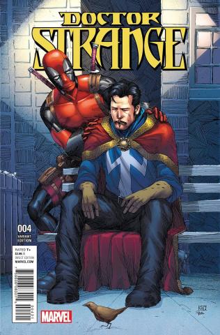 Doctor Strange #4 (Deadpool Cover)