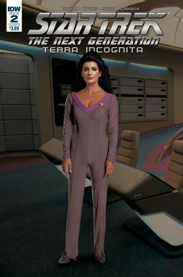 Star Trek: The Next Generation - Terra Incognita #2 (Photo Cover)
