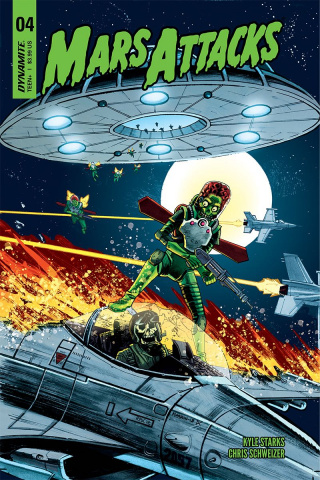 Mars Attacks #4 (Marron Cover)