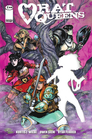 Rat Queens #7 (Gieni Cover)