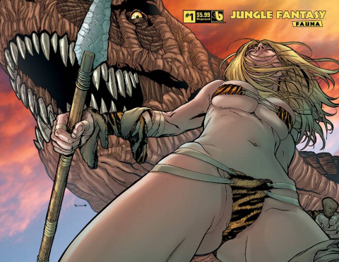 Jungle Fantasy: Fauna #1 (Wrap Cover)