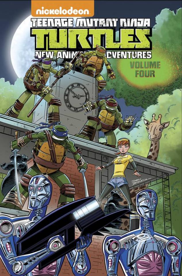 Teenage Mutant Ninja Turtles: New Animated Adventures Vol. 4
