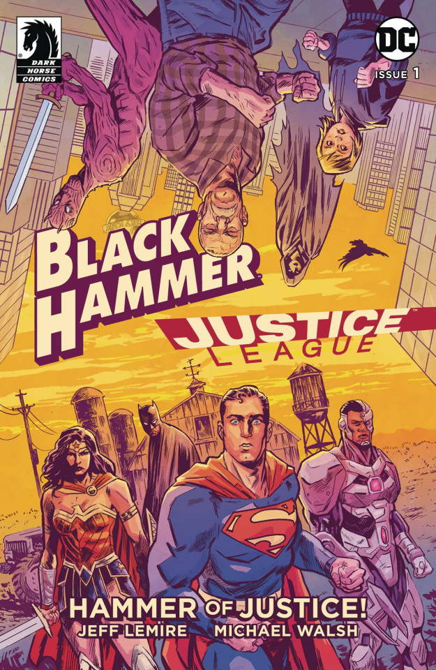 Black Hammer / Justice League #1 (Walsh Cover)