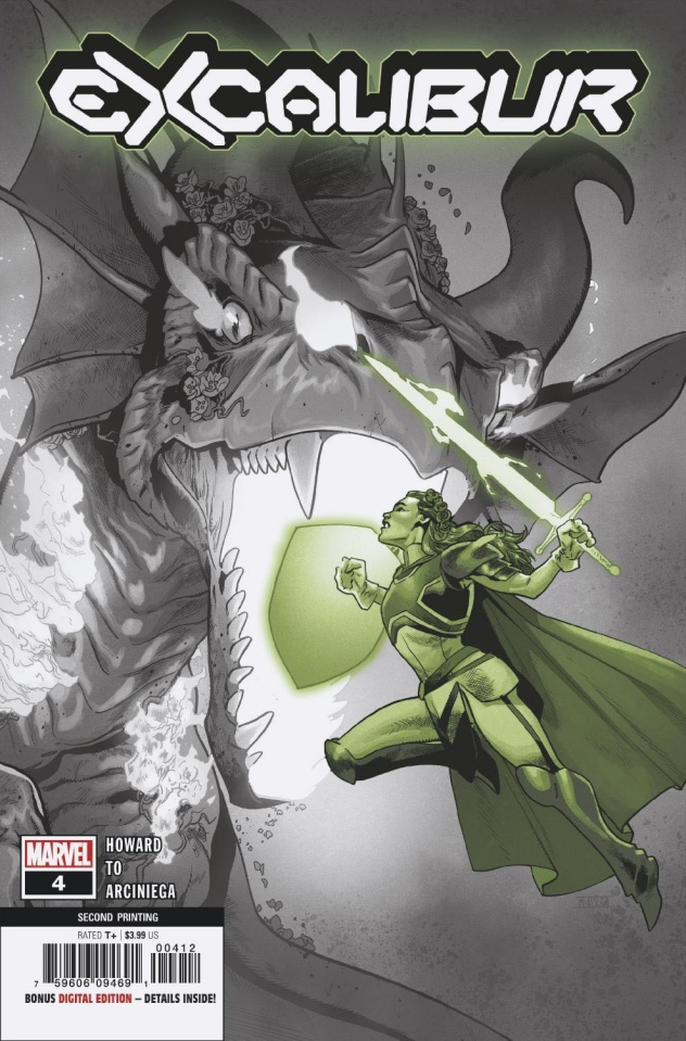 Excalibur #4 (Asrar 2nd Printing)