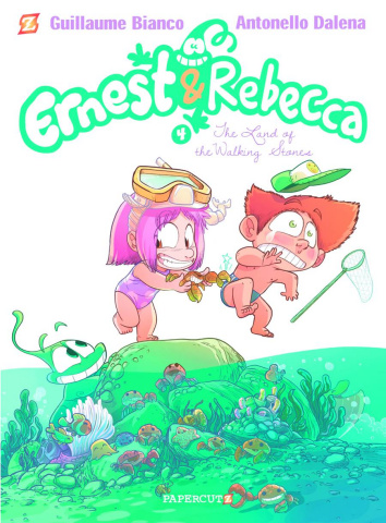 Ernest & Rebecca Vol. 4: The Land of the Walking Stones
