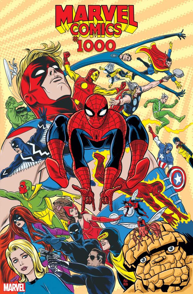 Marvel Comics #1000 (Allred '60s Cover)