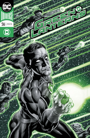 Green Lanterns #56 (Foil Cover)