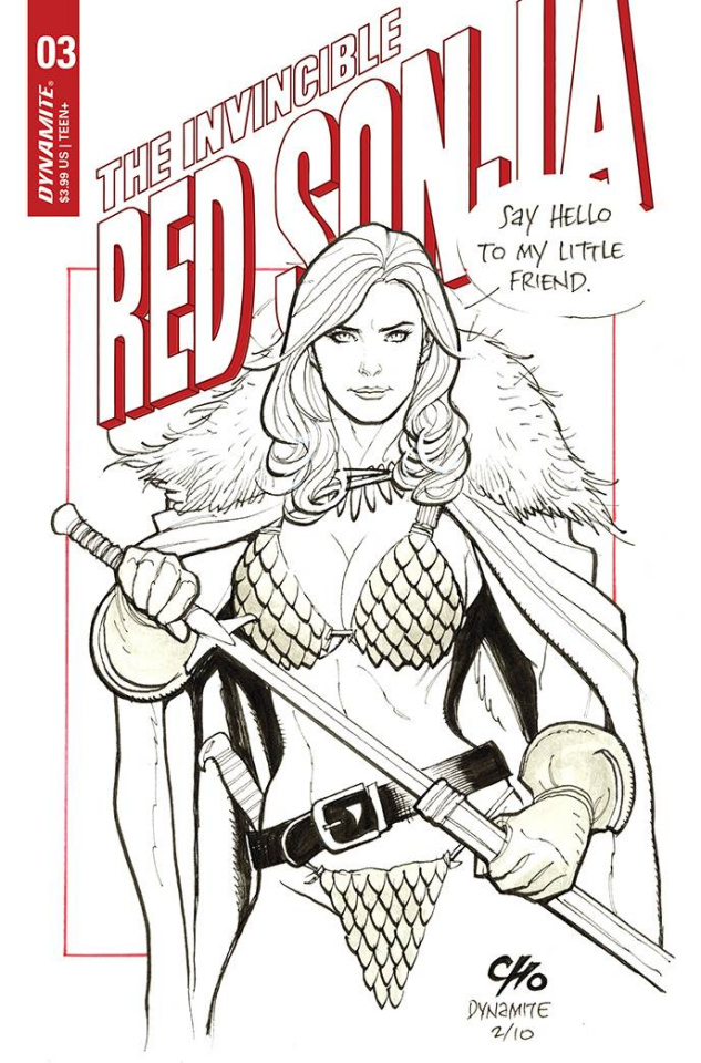 The Invincible Red Sonja #3 (Cho Cover)