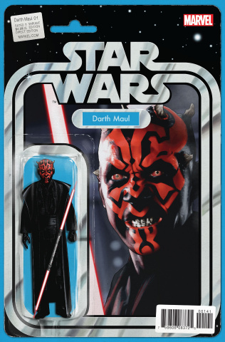 Darth Maul #1 (Christopher Action Figure Cover)