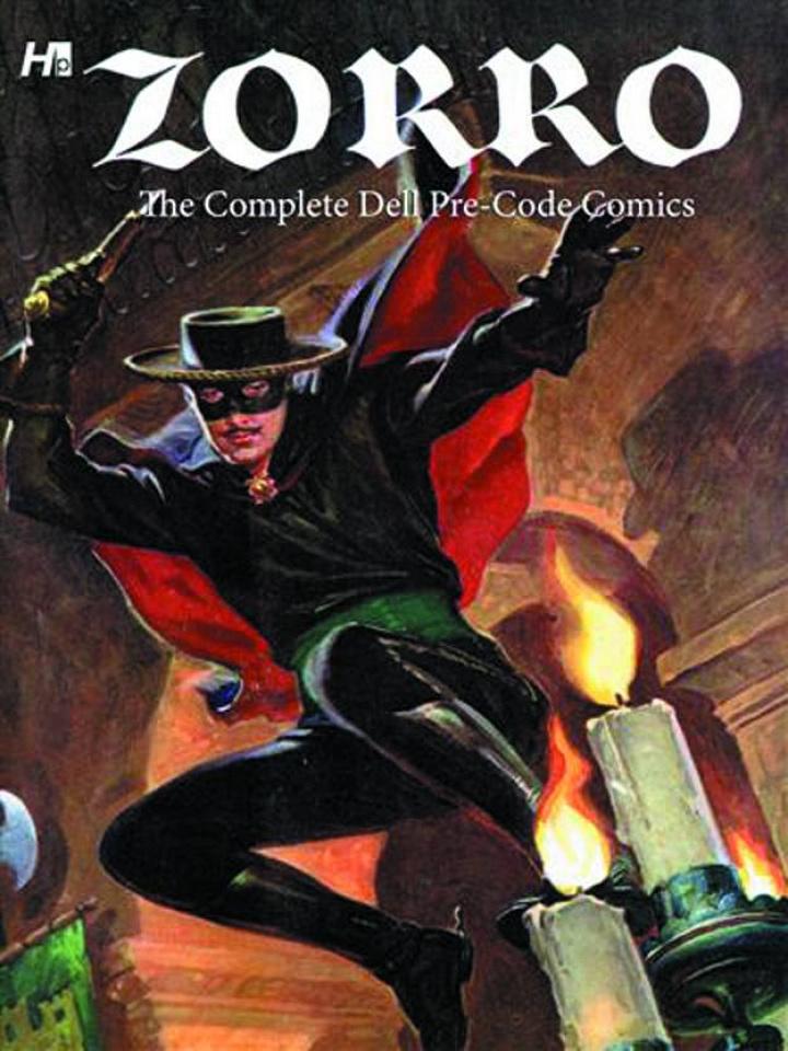 Zorro: The Complete Dell Pre-Code Comics