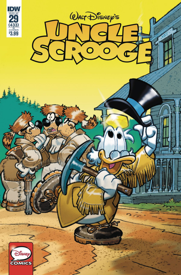 Uncle Scrooge #29 (Mastantuono Cover)