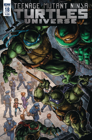 Teenage Mutant Ninja Turtles Universe #18 (Williams II Cover)