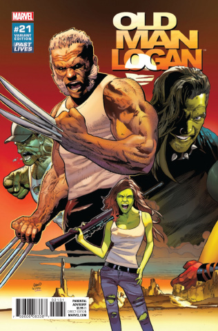 Old Man Logan #21 (Land Past Lives Cover)